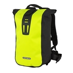 Ortlieb Velocity High Visibility Messenger Bag; Neon Yellow/Black