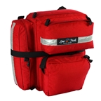 Lone Peak Mount Rainier Panniers Red