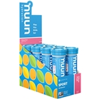 Nuun Active Hydration Tablets: Citrus Fruit, Box of 8 Tubes