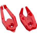 XLAB Raptor Talons Water Bottle Cage End Pieces: Red Pair
