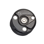 Serfas Puck Steel Plated Key Lock With Mount