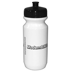 Modern Bike 20 ounce White Water Bottle