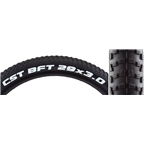 "CST BFT+ 29 x 3"" Wire Bead Tire Black"