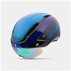 Giro Air Attack Shield - Black/Blue/Purple