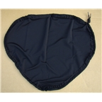 Recumbent Replacement Seat Cover With Drawstring Black