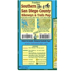 Southern San Diego County Bikeways and Trails Map
