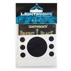 REFLECTOR LW SAFETY DOTS 7p BLK