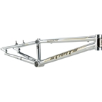 "Staats Bloodline SuperMoto30 Pro XXL PF30 Frame 22"" Top Tube Silver Arrow Polished"