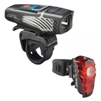 NiteRider Lumina OLED 1100 Boost Headlight and Solas 100 Taillight Combo