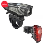 NiteRider Lumina 1100 Boost Headlight and Solas 100 Taillight Combo