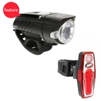 NiteRider Swift 450 Headlight and Sabre 80 Taillight Combo