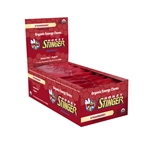 Honey Stinger Organic Energy Chews: Strawberry, Box of 12