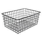 Wald Mesh Basket Black Hardware Not Included