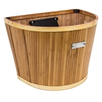 Sunlite Bamboo Slat Basket with Quick Release