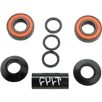 Cult Mid Bottom Bracket 19mm Black