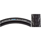 "Schwalbe Delta Cruiser 26 x 1 3/8"" Wire Bead Black/Reflecive"
