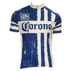 Retro Image Two Corona Stamp Men's Short Sleeve Jersey