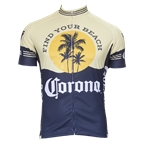 Retro Image Two Corona Vintage Men's Short Sleeve Jersey