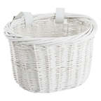 Sunlite Mini Willow Bushel Basket White