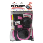 Triple Eight Wipeout 3- Pack Youth Med Pink