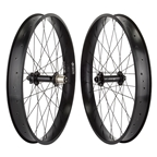"Wheel Master 26"" Alloy Fat Wheel Set 6 Bolt Disk Black 8-10 Speed 32 H"
