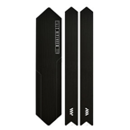 All Mountain Style Honeycomb Chain Guard, Black/Silver