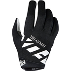 Fox Racing Ripley Gel Women's Full Finger Glove: Black/White