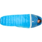 Sierra Designs Zissou Mummy Sleeping Bag 35F 650fill DriDown Long Blue
