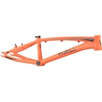 "Thrill BMX Cruiser Pro XL Frame, 21.85"" Top Tube, Orange and Black"
