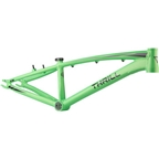"Thrill BMX Cruiser Pro XL Frame, 21.85"" Top Tube, Green and Black"