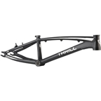 "Thrill BMX Pro XL Frame, 21.46"" Top Tube, Black"