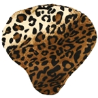 Cruiser Candy Leopard Faux Fur Seat Cover