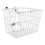 Sunlite Steel Lift-Off Basket With Bracket White