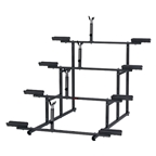 Minoura 4 Tier Bike Stand Black