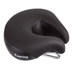 "ISM Touring Saddle Black L x W 175mm x 195mm (6.9"" x 7.7"")"