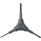 Pedro's Torx Wrench Y-Style Including T10, T25, T30 Torx Sizes, Gray