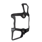 Whisky No.9 SER Carbon Water Bottle Cage Right Side UD: Matte Black