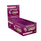Honey Stinger Organic Energy Chews Pomegranate Passion - Box of 12 Individual Bags