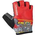 Louis Garneau Kid Ride Gloves: Mechanic Youth Size 2