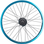 Salt Everest Freecoaster Rear Wheel 20 Left Side Drive 9t Driver 14mm Axle Blue