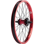 "Salt Everest Freecoaster Rear Wheel 20"" Left Side Drive 9t Driver 14mm Axle Red"