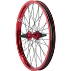 Salt Everest Cassette Rear Wheel 20 9t Driver 14mm Axle Red
