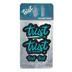 Trust Perfomance Message Decal Kit, Turquoise
