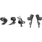 SRAM RED eTap AXS Electronic Road Groupset - 2x, 12-Speed, HRD Brake/Shift Levers, Post Mount Disc Calipers, Front/Rear Derailleurs, D1