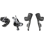 SRAM RED eTap AXS Electronic Road Groupset - 1x, 12-Speed, HRD Brake/Shift Levers, Post Mount Disc Calipers, Rear Derailleur, D1
