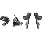 SRAM RED eTap AXS Electronic Road Groupset - 1x, 12-Speed, HRD Brake/Shift Levers, Flat Mount Disc Calipers, Rear Derailleur, D1