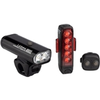 Lezyne Connect Drive Light Set, 800XL Macro Drive/Rear Strip Drive