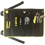 Pedro's Starter Tool Kit 1.1. Including 19 Tools And Tool Wrap, Black