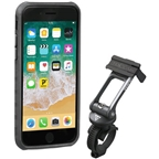 Topeak Ridecase with Mount Fits iPhone 8/7/6S/6, Black/Gray