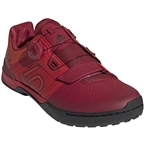 Five Ten Kestrel Pro BOA Troy Lee Designs Men's Clipless Shoe: Red/Black